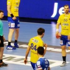 mecz w ramach półfinału Pucharu Polski Łomża VIVE Kielce 9
